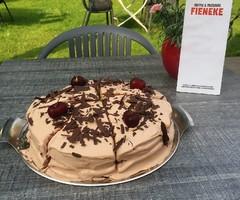 Heerlijk gebak bij Fieneke